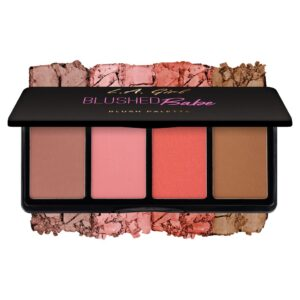 Палетка румян Blushed Babe Fanatic Blush Palette L.A. Girl
