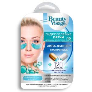 Патчи для глаз гидрогелевые гиалуроновые «Аква-филлер» Beauty Visage
