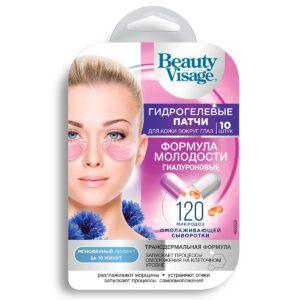 Патчи для глаз гидрогелевые гиалуроновые «Формула молодости» Beauty Visage