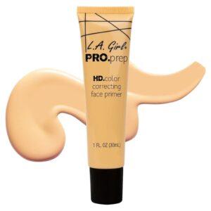 Праймер для лица маскирующий синяки и тёмные круги Yellow Correcting Primer PRO.Prep L.A. Girl