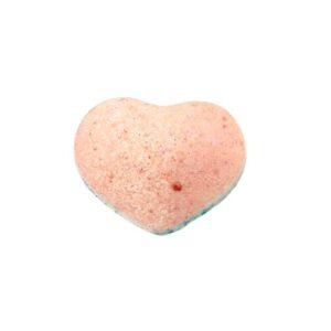 Бомбочка для ванны бурлящая «Грейпфрут» сердечко Velvet