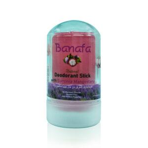 Дезодорант минеральный на основе алунита «Мангостин» Mangosteen Deodorant Stick Banafa