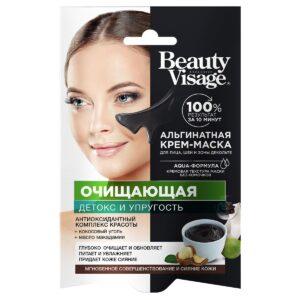 Крем-маска для лица альгинатная «Очищающая» Beauty Visage