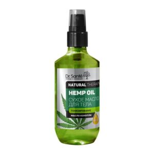 Масло для тела тонизирующее сухое Hemp Oil Natural Therapy Dr.Sante