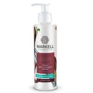 Пенка для укладки волос «Сильная фиксация» Everyday Markell Cosmetics