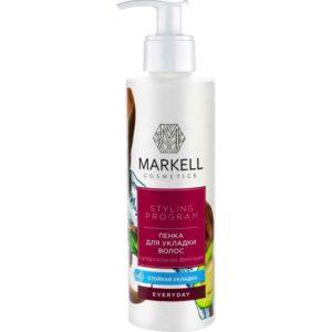 Пенка для укладки волос «Суперсильная фиксация» Everyday Markell Cosmetics