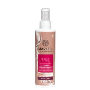 Спрей-автобронзант для тела «Эффектный загар» для смуглой кожи Perfect Shine Markell Cosmetics
