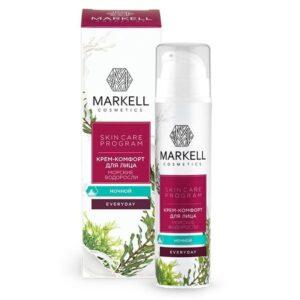 Крем-комфорт для лица ночной «Морские водоросли» Everyday Markell Cosmetics