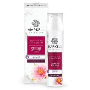 Крем-уход для лица дневной «Лотос» Everyday Markell Cosmetics