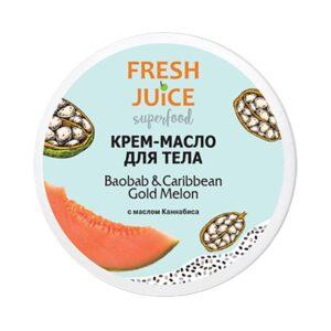 Крем-масло для тела питательное Baobab & Caribbean Gold Melon Superfood Fresh Juice
