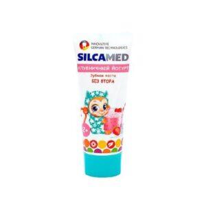 Паста зубная детская «Клубничный йогурт» SilcaMed