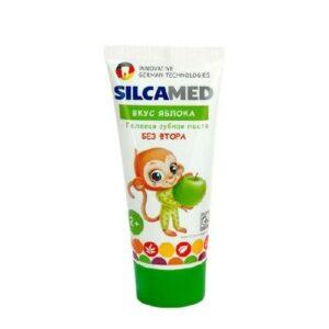 Паста зубная детская cо вкусом яблока SilcaMed