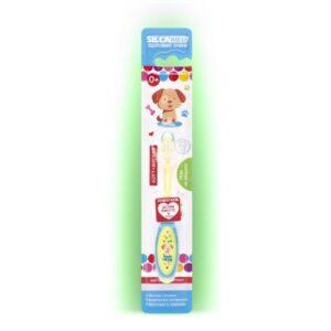 Щётка зубная детская мягкая «Здоровые зубки» цвет «Розовый» SilcaMed