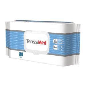 Салфетки влажные очищающие успокаивающие с кремовым эффектом TerezaMed