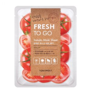 Маска для лица тканевая витаминизирующая с экстрактом томата Tomato Fresh To Go Tony Moly