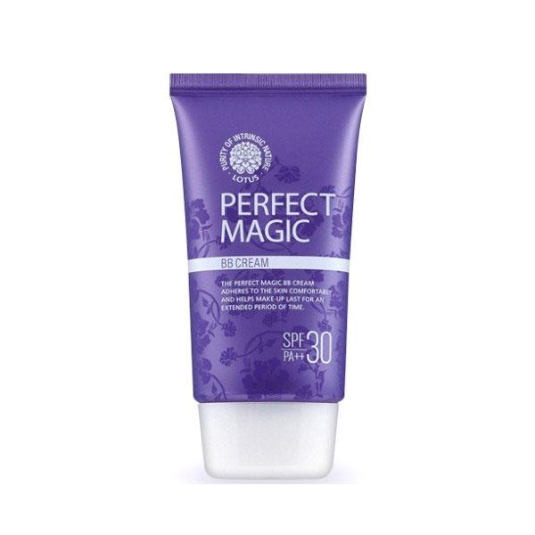 BB крем многофункциональный SPF30 Perfect Magic BB Cream Lotus. Интернет-магазин косметики Beautybox.uz. Ташкент. Узбекистан