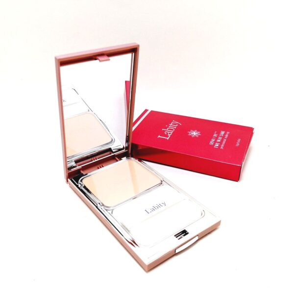 Пудра компактная Professional Make-up Two Way Cake оттенок 21 Light Beige Labity. Интернет-магазин косметики Beautybox.uz. Ташкент. Узбекистан